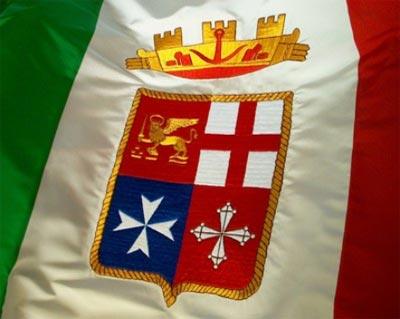 Marina militare italiana la ciarla for Bandiera di guerra italiana