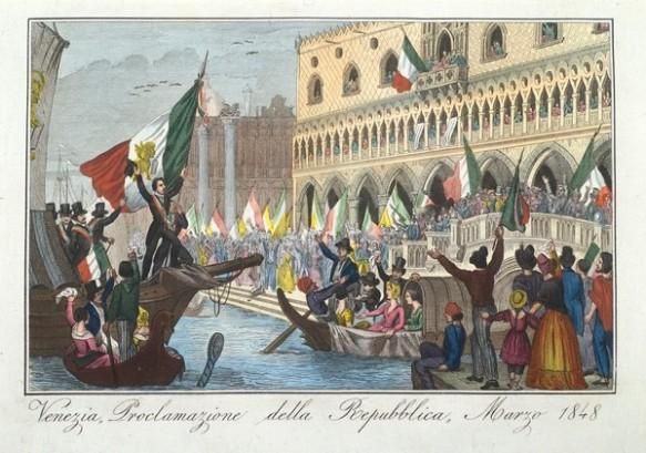 Venezia, proclamazione della repubblica di San Marco