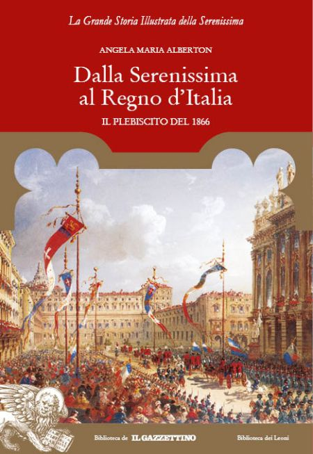 Dalla Serenissima al Regno d'Italia - Cover