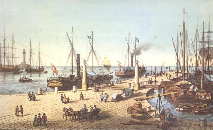 Molo_Audace_1854